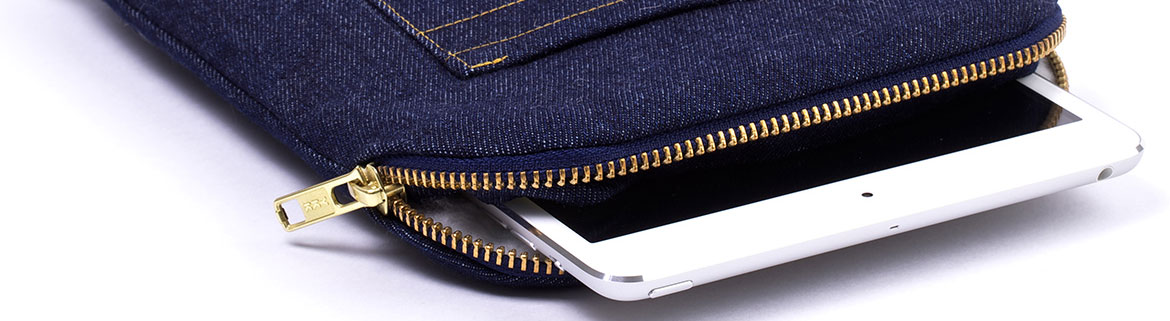 iPad mini sleeve jeans