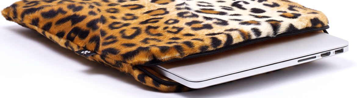 MacBook sleeves Leopard