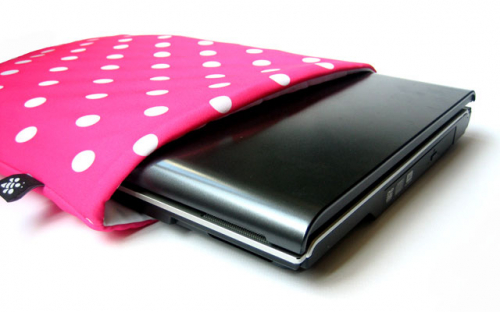 Pink Netbook Sleeve