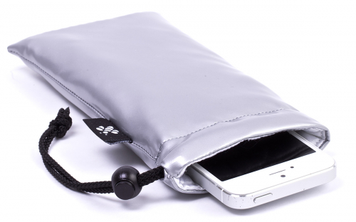 iPhone Sleeve Silver
