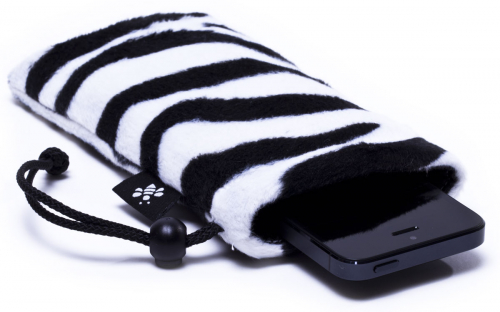 Zebra iPhone Sleeve 1