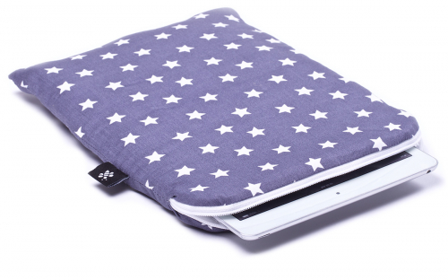 Gray stars iPad Air Sleeve