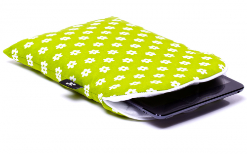 Green iPad mini Sleeve 1
