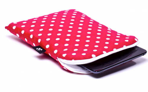 Pinkish Red iPad mini Sleeve 1