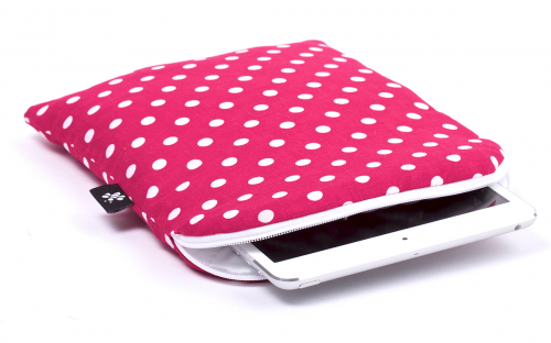 Pinkish Red iPad mini Sleeve