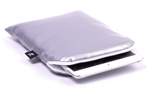 iPad mini Sleeve Silver