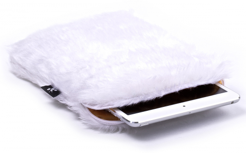White iPad mini Sleeve