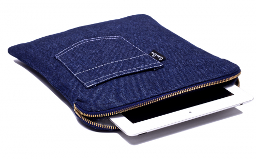 Denim (jeans) iPad sleeve