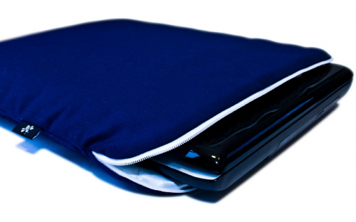 Blue White Laptop Sleeve