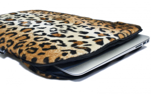 Leopard Macbook Sleeve 3