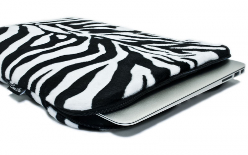 Zebra Macbook Sleeve