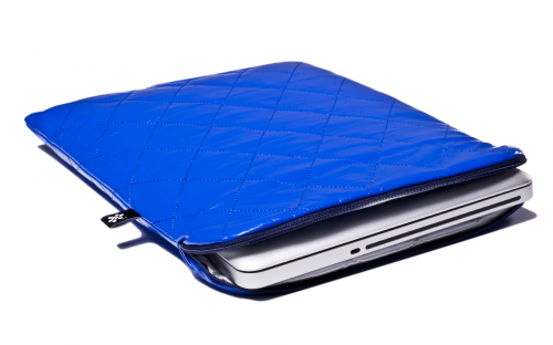 Blue Macbook Sleeve
