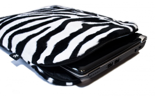 Zebra Netbook Sleeve