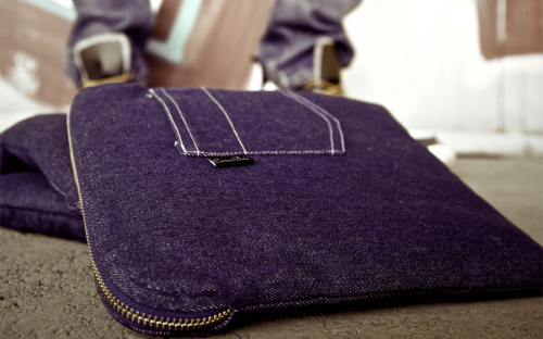 Denim (jeans) iPad sleeve 6