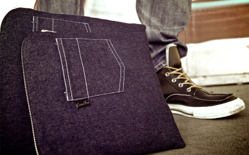 Denim (jeans) iPad sleeve 7