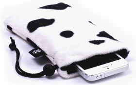 Cow iPhone Sleeve - Lazy Cow