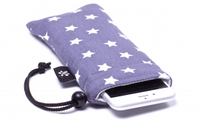 Gray stars iPhone Sleeve - Stardust