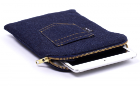 Denim (jeans) iPad mini sleeve - Billy Jeans