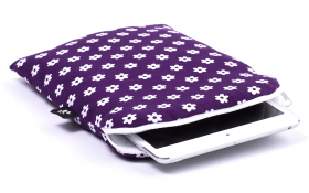 Purple iPad mini Sleeve - Happy Flower
