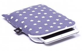 Gray stars iPad mini Sleeve - Stardust