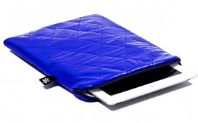 Blue iPad Sleeve - Ocean Bomber