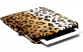 Leopard iPad Air Sleeve - Posh Leopard