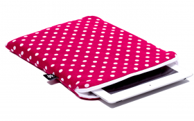 Pinkish Red iPad Sleeve