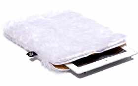 White iPad Air Sleeve - Snow White