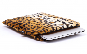 Leopard Laptop Sleeve - Posh Leopard