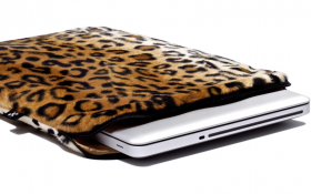 Leopard Macbook Sleeve - Posh Leopard