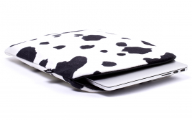 Cow Macbook Sleeve - Lazy Cow
