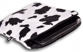 Cow Netbook Sleeve - Lazy Cow