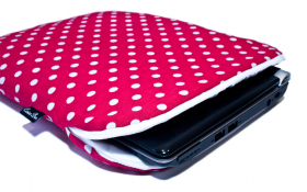 Pinkish Red NetBook Sleeve