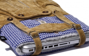 Lederhosen MacBook Sleeve
