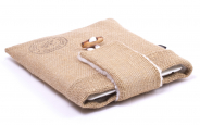 Burlap iPad Air Sleeve