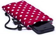 Pinkish Red iPhone Sleeve 1