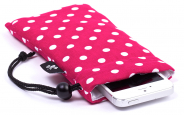 Pinkish Red iPhone Sleeve