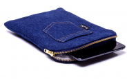 Denim (jeans) iPad mini sleeve 1