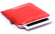 iPad Air Sleeve Red Leather