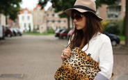 Leopard Laptop Sleeve 1