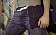 Denim (jeans) iPad sleeve 1