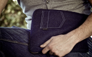 Denim (jeans) iPad sleeve 5